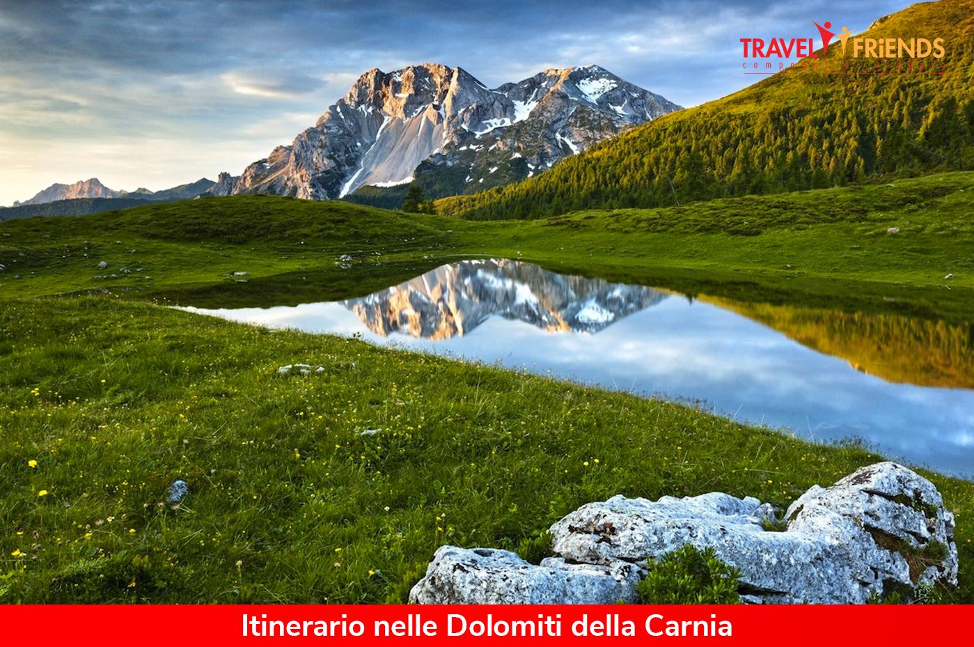 Itinerario Nelle Dolomiti Della Carnia Viaggi Di Gruppo Organizzati